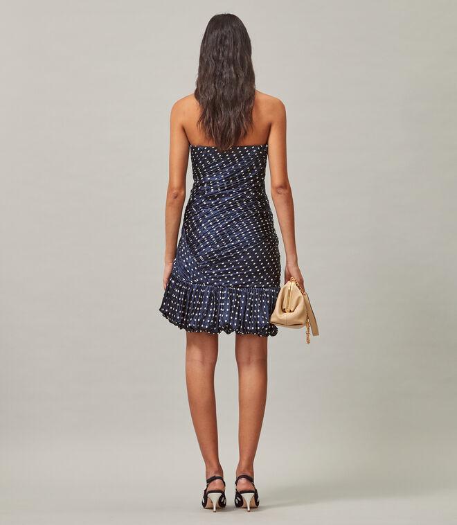 فستان ميني بارتي حريري / 443 / فساتين ضيقة