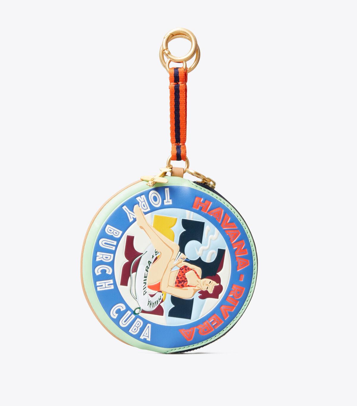 Havana Pouch Key Ring