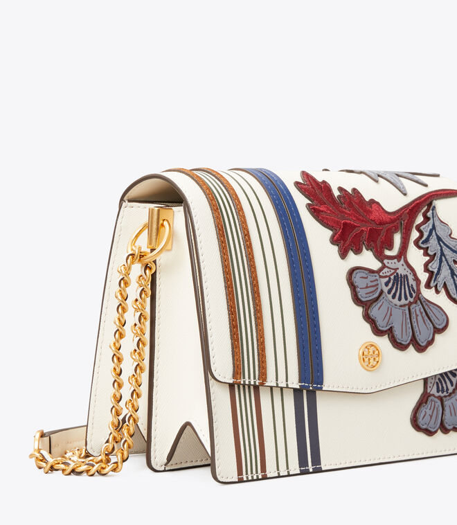 Robinson Appliqué Convertible Shoulder Bag