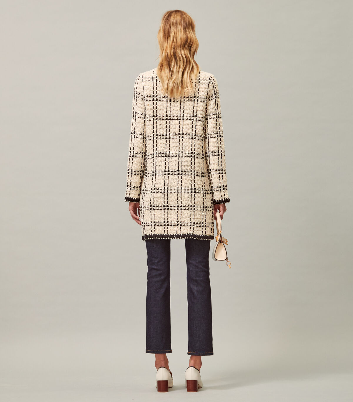 Tweed Kendra Coat   104   Cardigans