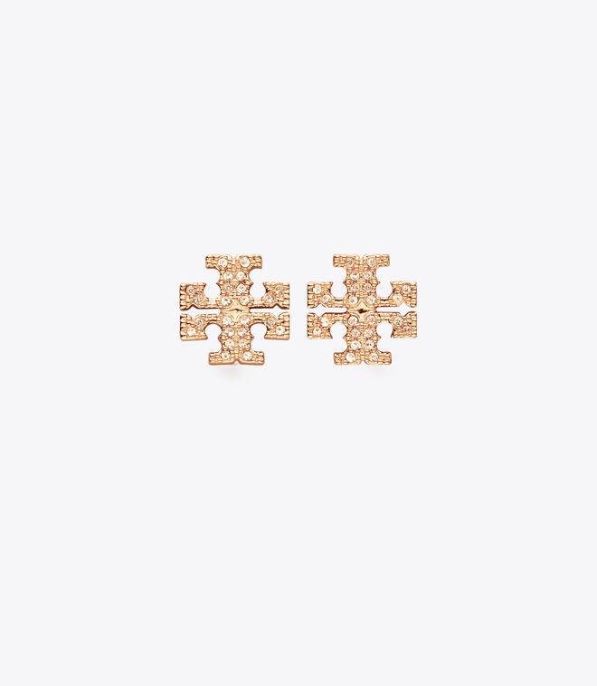 Kira Pave Stud Earring