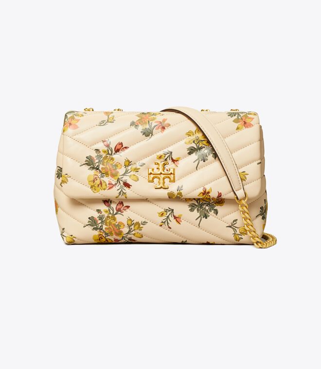 KIRA CHEVRON PRINTED SMALL CONVERTIBLE SHOULDER BAG
