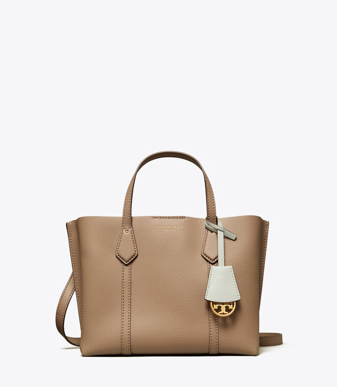 Perry Small Triple-Compartment Tote Bag