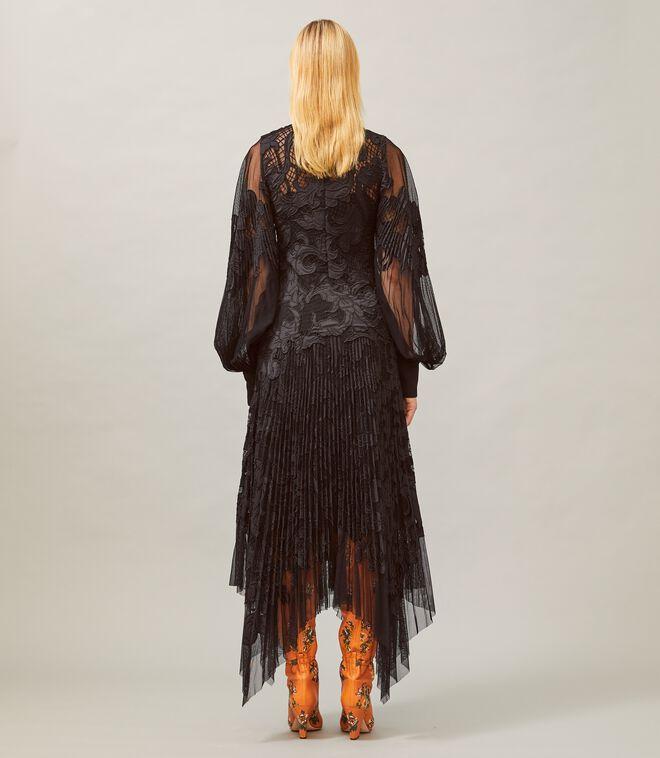 Embellished Guipure Dress
