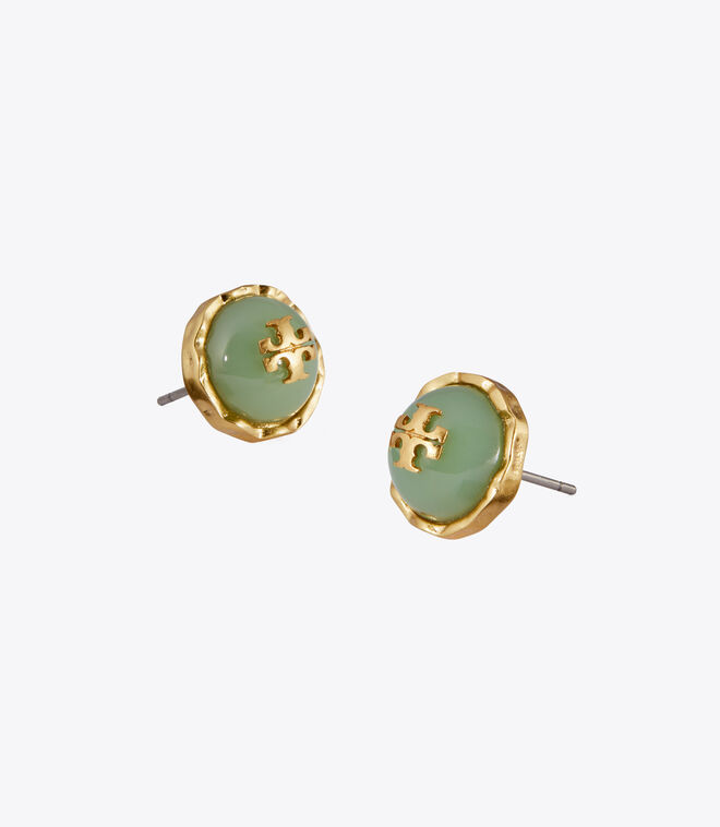 ROXANNE CIRCLE-STUD EARRING
