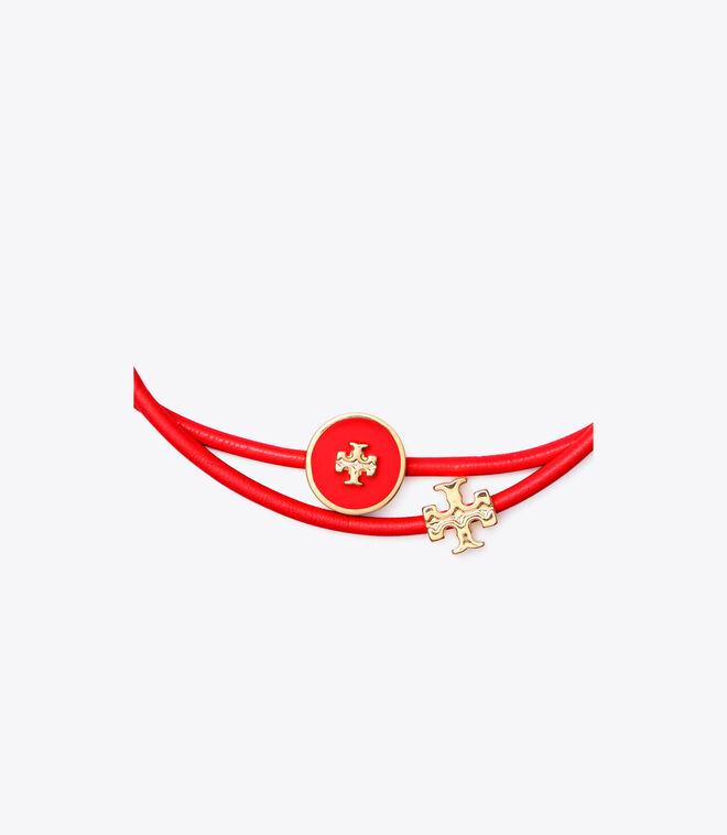 Kira Enameled Slider Bracelet