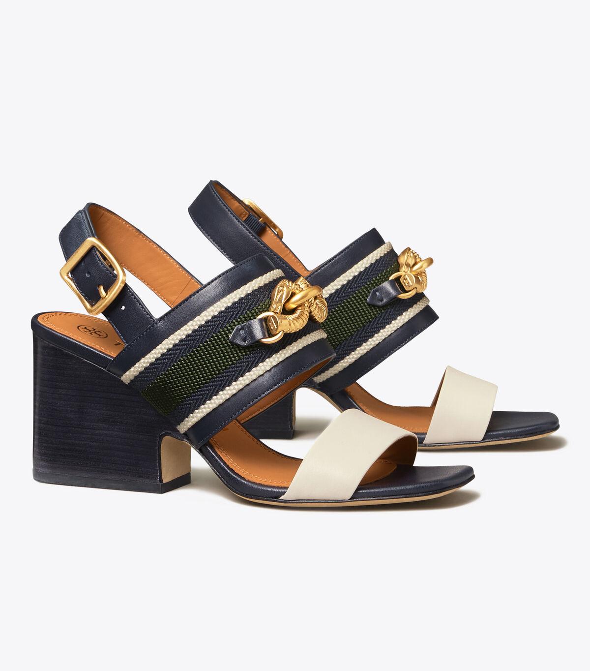 JESSA 75MM BLOCK HEEL SANDAL | 400 | Heeled Sandals