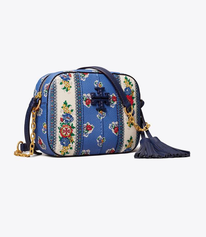 MCGRAW FLORAL CAMERA BAG   431   Crossbody Bags