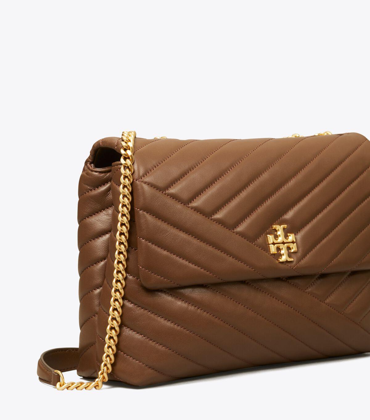 Kira Chevron Convertible Shoulder Bag
