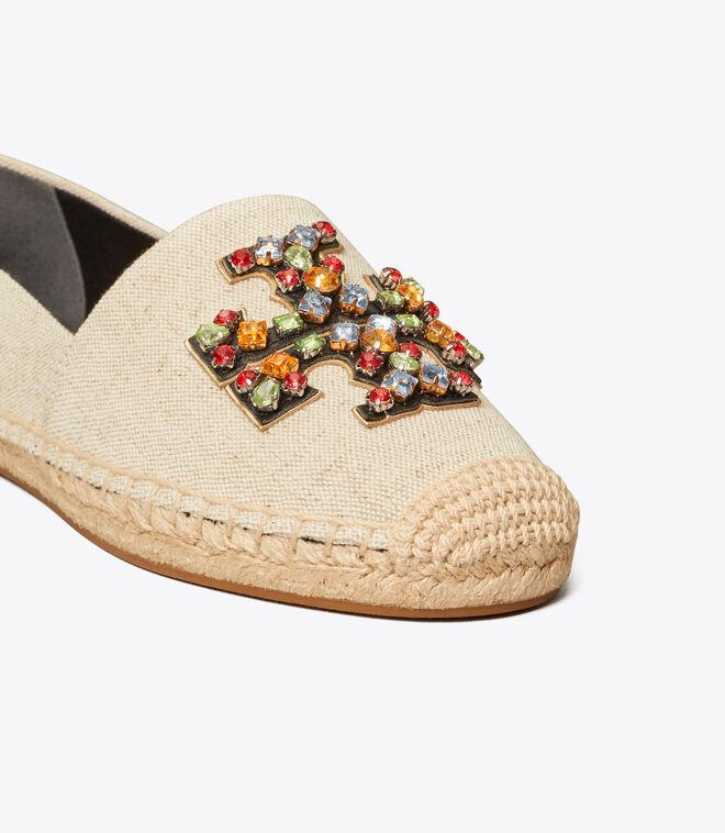 حذاء قماشي ايناس مزخرف