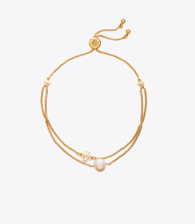 KIRA PEARL SLIDER BRACELET | 709 | Chain