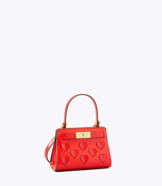 LEE RADZIWILL APPLIQUE NANO BAG