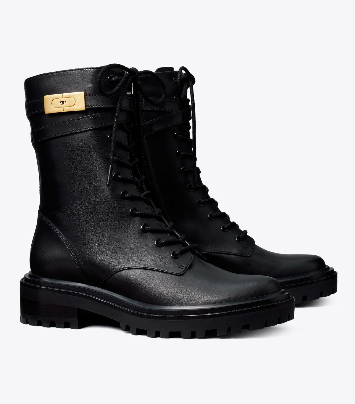 T Hardware Combat Boot