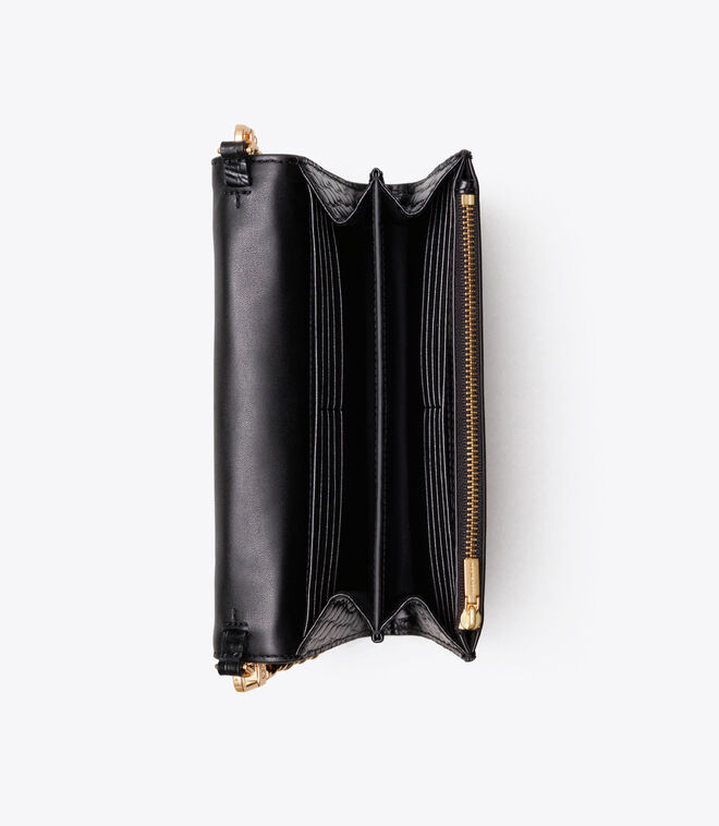 ROBINSON EMBOSSED CHAIN WALLET | 001 | Mini Bags