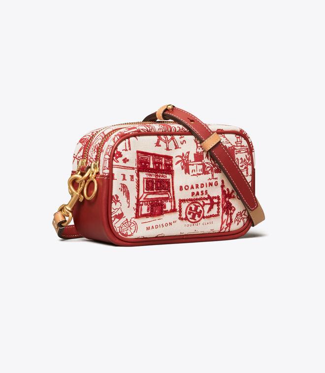 PERRY PRINTED CANVAS MINI BAG | 987 | Mini Bags