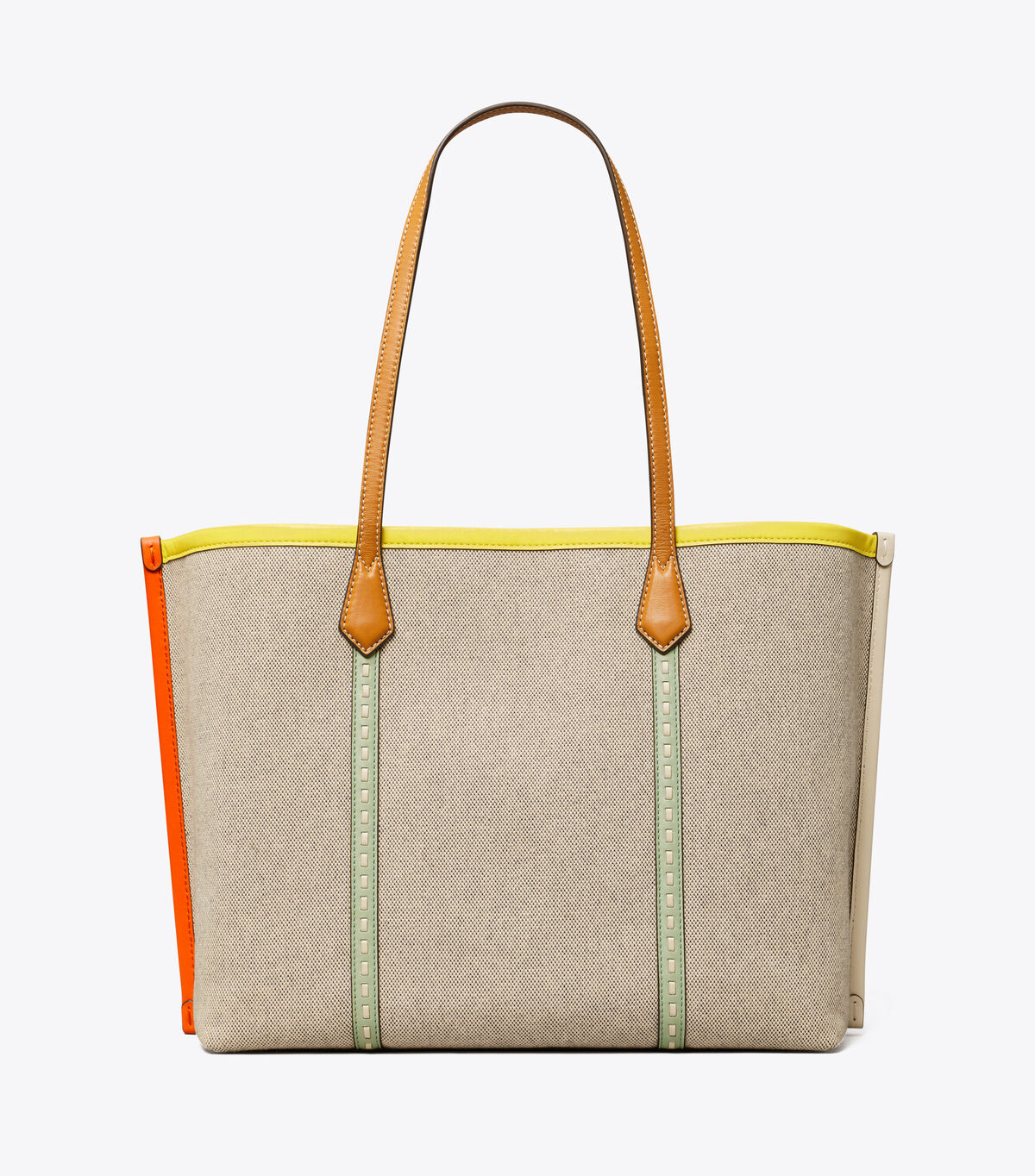 PERRY CANVAS TRIPLE-COMPARTMENT TOTE