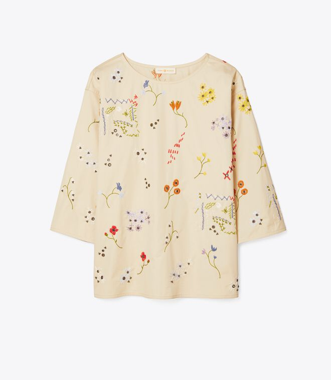 ROBINSON EMBROIDERED TOP