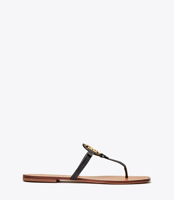 Mini Miller Leather Thong Sandal