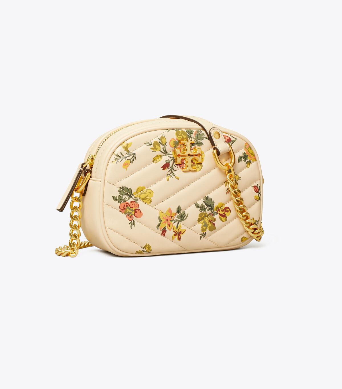 KIRA CHEVRON PRINTED SMALL CAMERA BAG
