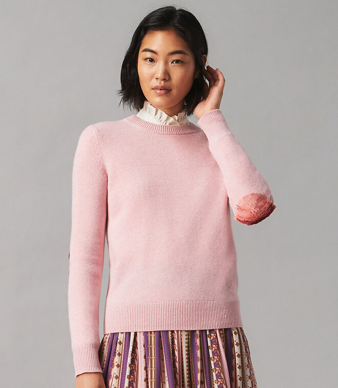 CASHMERE SWEATER WITH SEQUINS