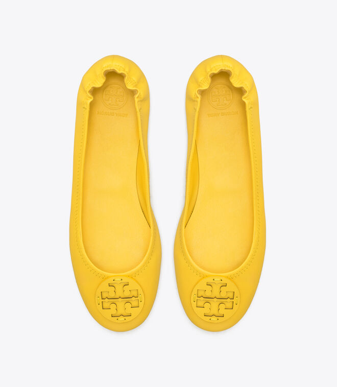 MINNIE TRAVEL BALLET WITH LEATHER LOGO | 700 | Ballets
