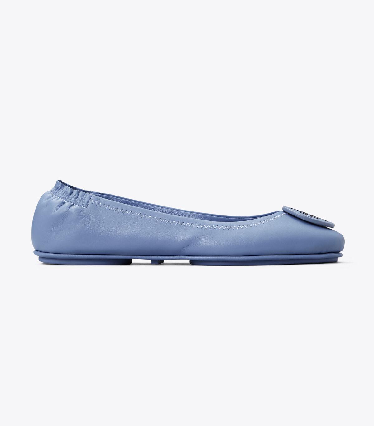 باليرينا ميني ترافيل مع شعار جلد / 400 / أحذية باليرينا