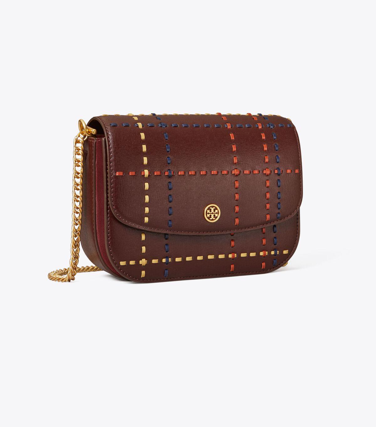 Robinson Woven Plaid Convertible Shoulder Bag