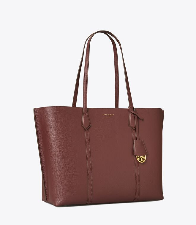 Perry Triple-Compartment Tote Bag