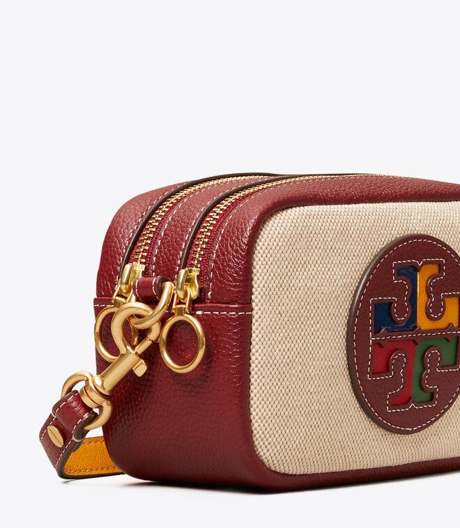 Perry Color-Block Canvas Mini Bag