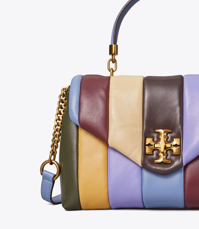 Kira Quilted Small Satchel