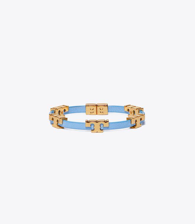 Serif-T Single Wrap Bracelet