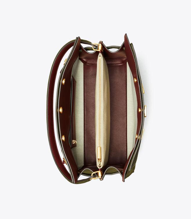 LEE RADZIWILL SUEDE DOUBLE BAG | 325 | Satchels