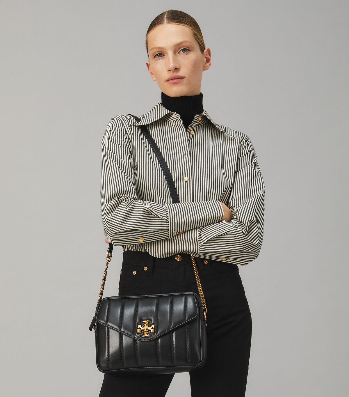 Kira Quilted Camera Bag