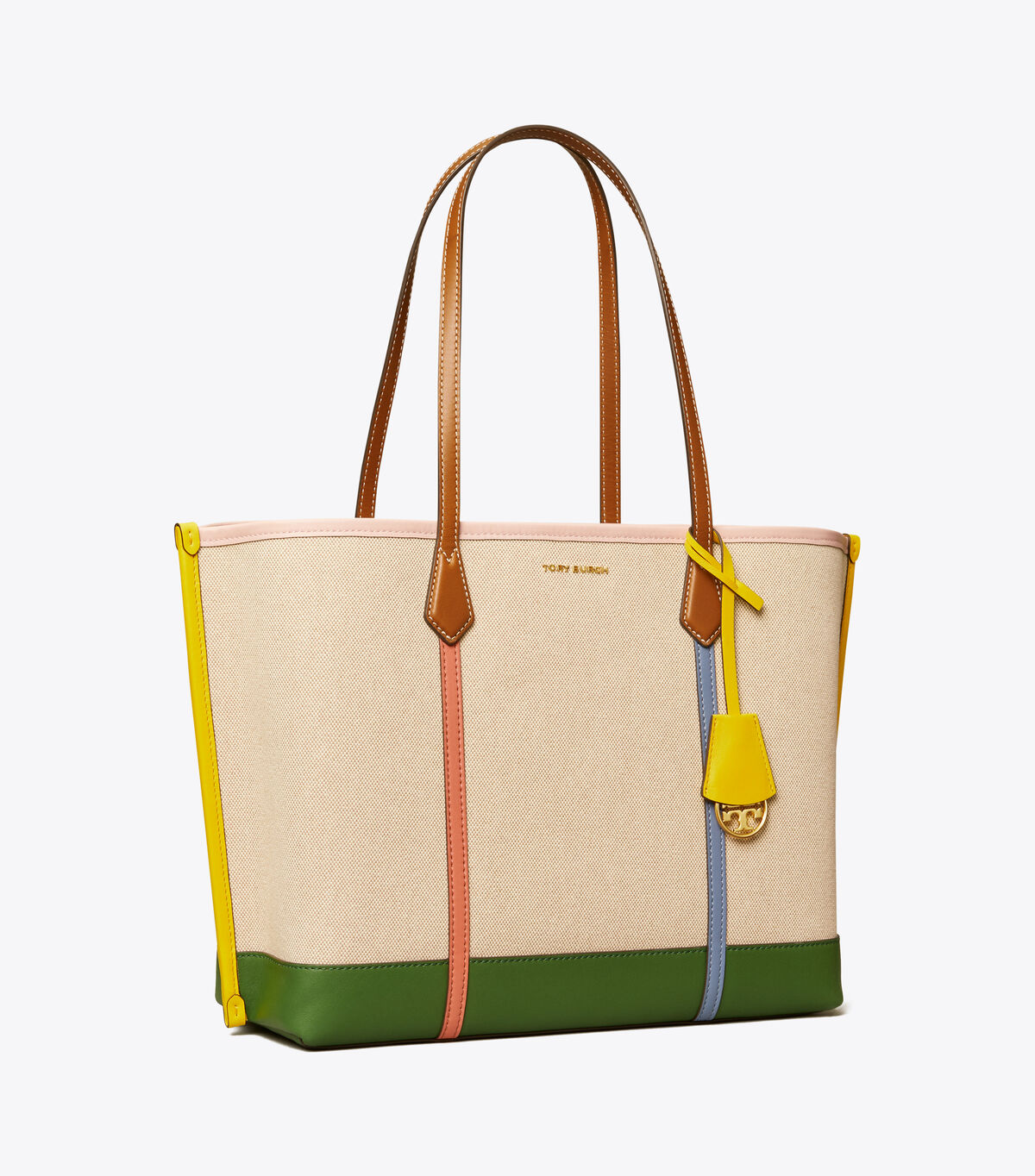 PERRY CANVAS TRIPLE-COMPARTMENT TOTE   254   Totes