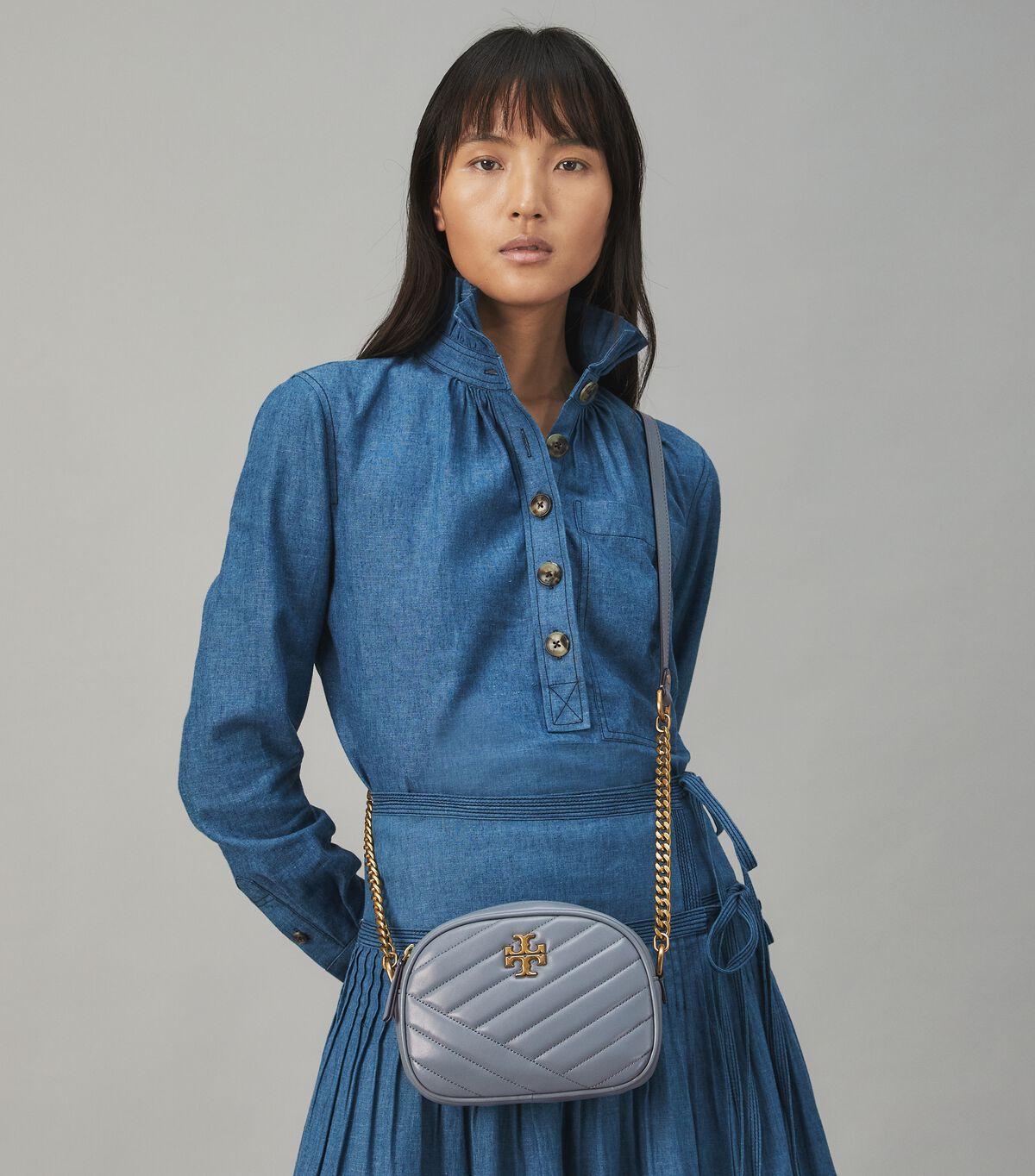 Kira Chevron Small Camera Bag