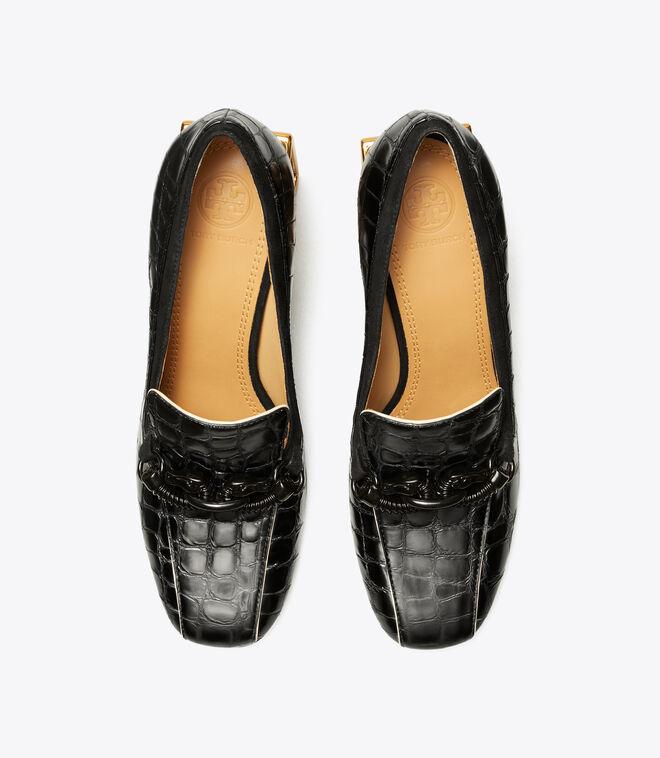 حذاء لوفر جيسا بكعب مستطيل 75مم/ 008/ أحذية بكعب