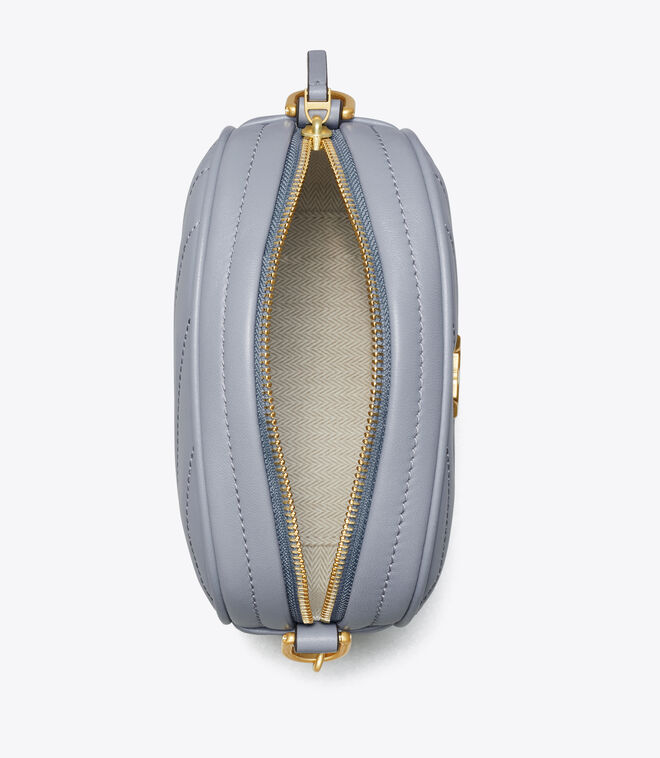 KIRA CHEVRON SMALL CAMERA BAG