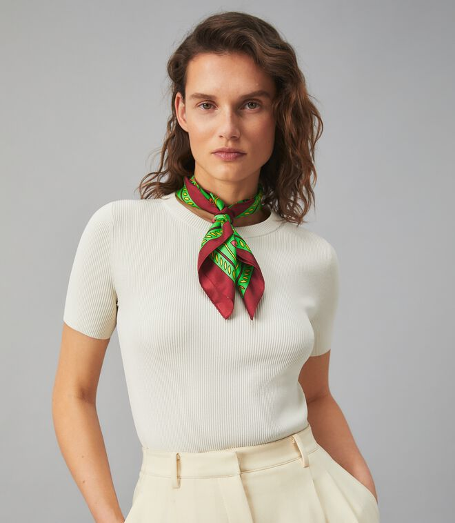 GREEN SPLASH NECKERCHIEF